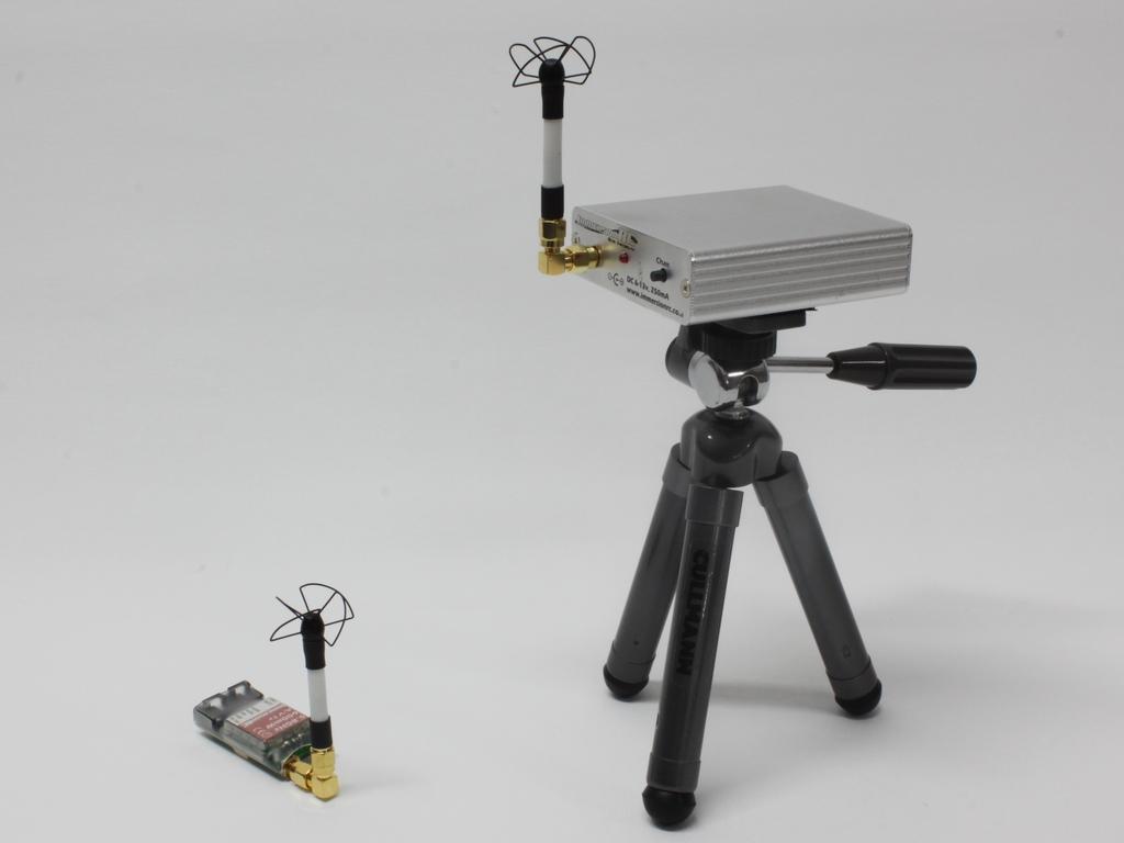 Jednoduchá FPV soustava s externím videopřijímačem