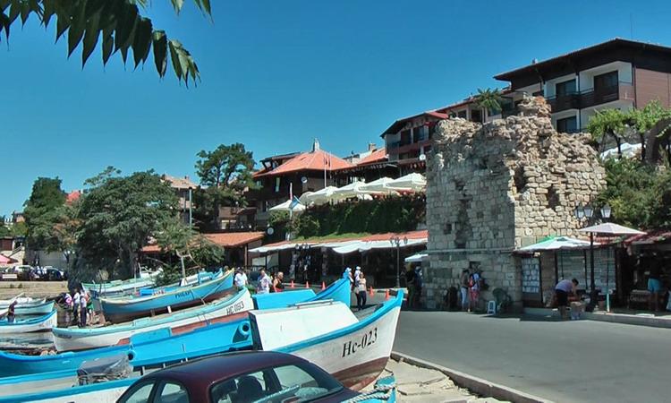 Nessebar - port