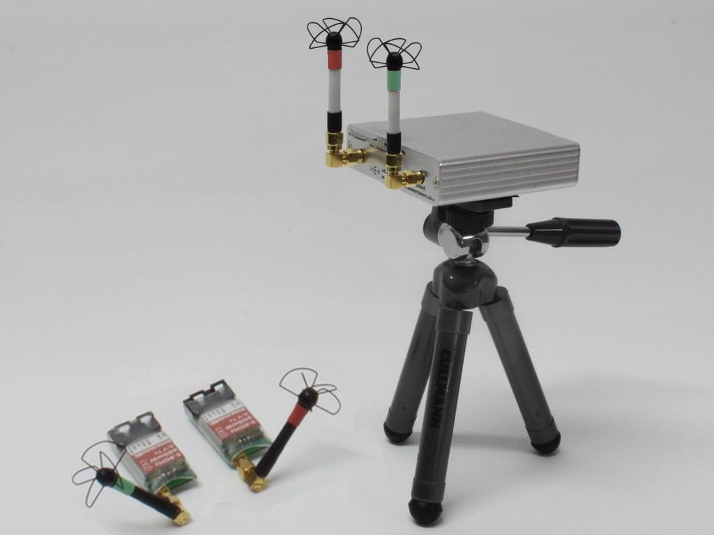 Všesměrový set se dvěma anténami na pevném stativu