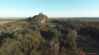 Castle Kuneticka Hill from north-west