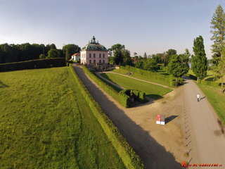 Castle Fasanenschloss from south-west
