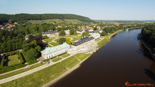 Elbe and Castle Pilnitz from south-west