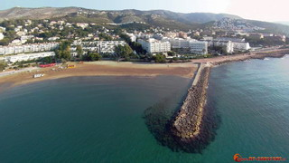 Las Fuentes, Sea-wall