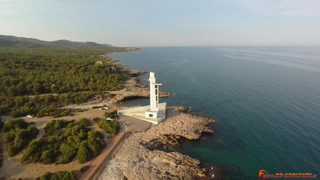 Lighthouse and Cala Mundina