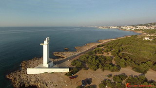 Lighthouse and Playa del Ribamar