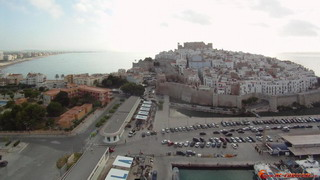 Above the port